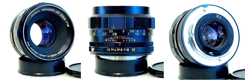 Konica Hexanon AR 50mm 1:1.8 #257