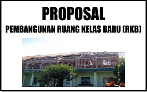 Contoh Proposal Pengajuan Bantuan Dana Ruang Kelas Baru (RKB)