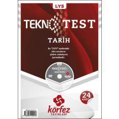 Körfez LYS Tarih Tekno Test Çözümlü DVDli
