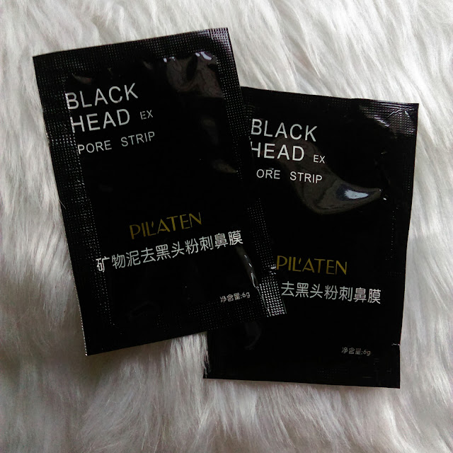 BLACK HEAD PORE STRIP  - PILATEN