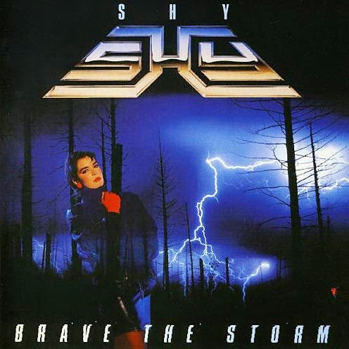 Shy Brave the storm 1985 aor melodic rock music blogspot albums bands