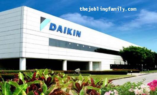 Loker Operator Terbaru PT. Daikin Manufacturing Indonesia Bulan Januari 2019