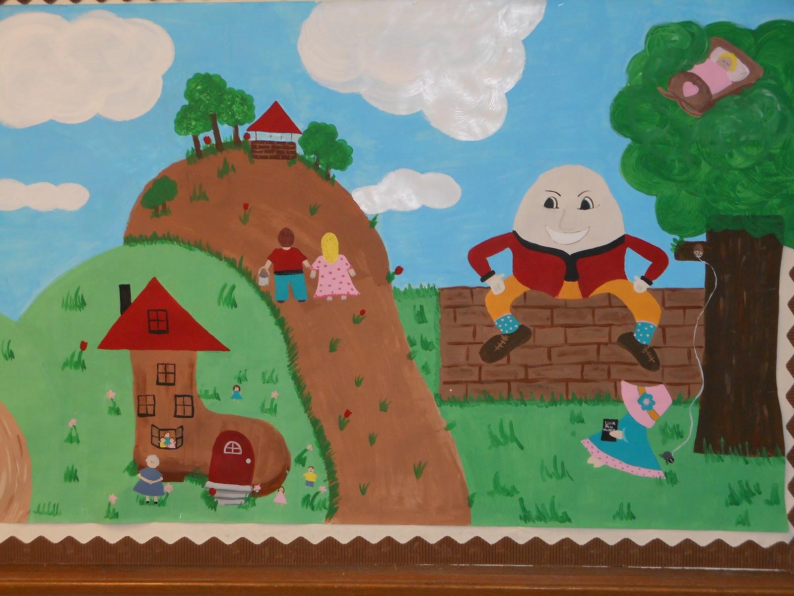 Kindergarten Blooms Nursery Rhymes In Never Never Land