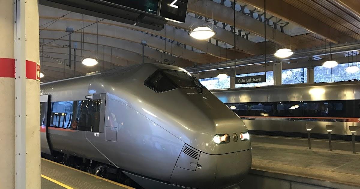 Flytoget Oslo to Oslo Gardermoen Airport Express