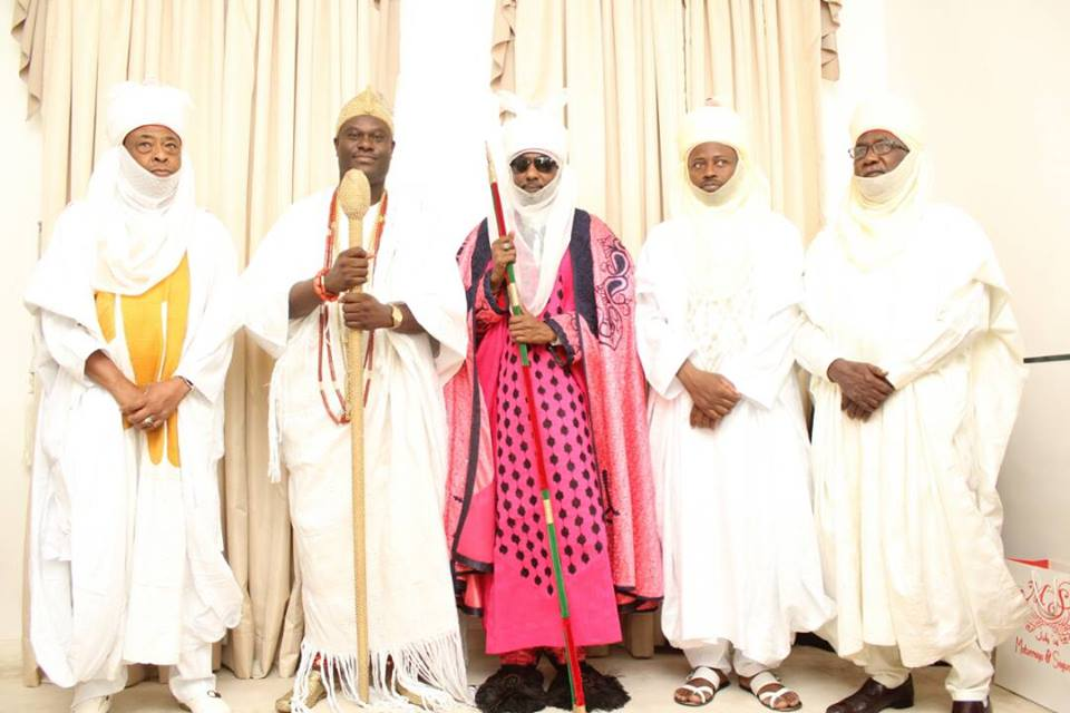 Ooni Of Ife Hosts Emir Of Kano, Lamido Sanusi In His Palace In Osun State (Pics)2