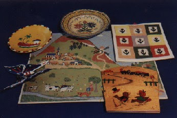 Travail manuel vers 1960 (collection musée)