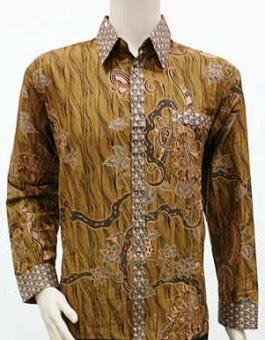 40 Model Baju Batik Kerja Untuk Pria Modern Terbaru 2020