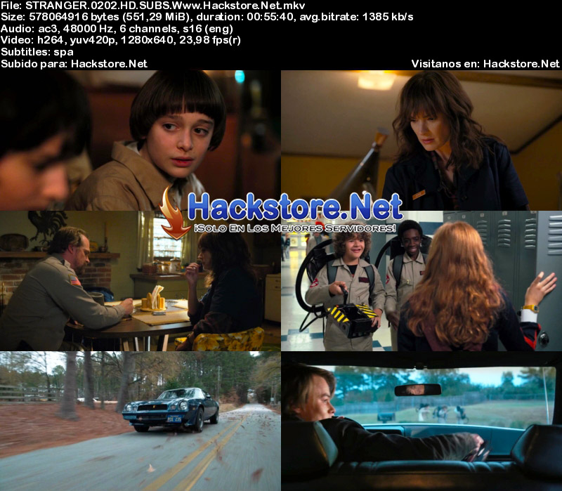 Capturas de Stranger Things Temporada 2 Subtitulado HD