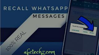 Recall sent messages