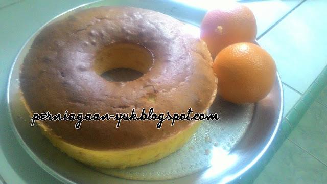 Resepi Sicilian Orange Cake