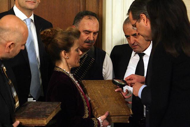 Αντώνης Σαμαράς: Στηρίζω την Εύξεινο Λέσχη Νάουσας για τη διάσωση της Εθνικής Βιβλιοθήκης της Αργυρούπολης