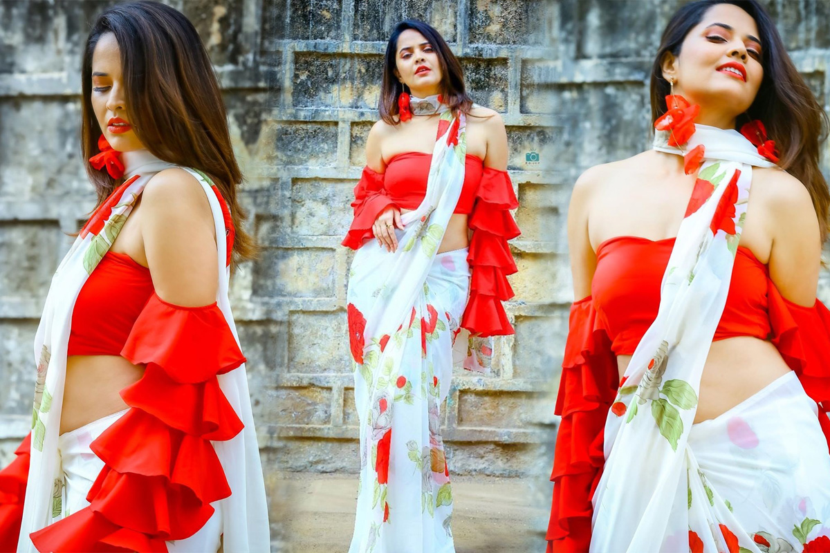 Anasuya Bharadwaj Latest Glam Photoshoot Stills