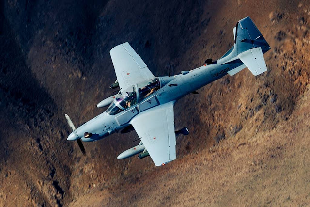 A-29 Super Tucano crashes Holloman