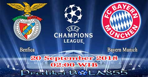 Prediksi Bola855 Benfica vs Bayern Munich 20 September 2018