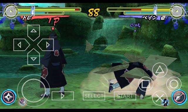 Downloak Naruto Shippuden - Narutimate Accel 3 ISO  APK
