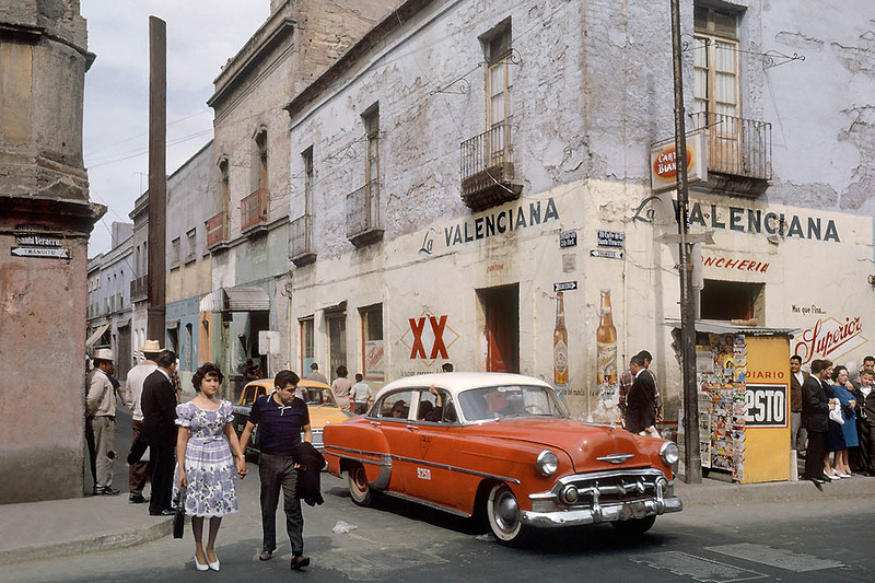 Old Photographs 1952 1973 Of Mexico Vintage Everyday