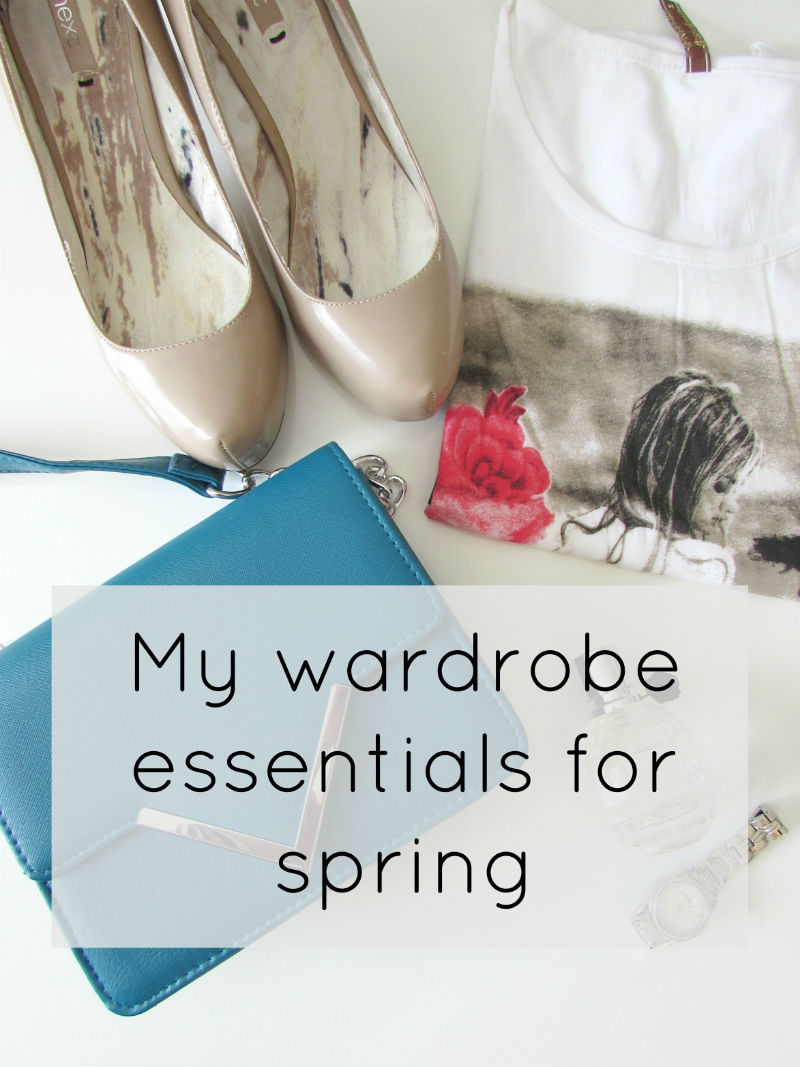 My staple items for spring