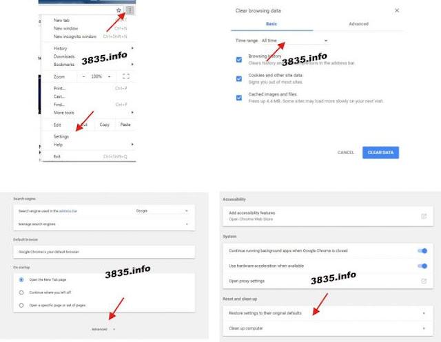 Cara Menghapus Iklan, Malware dan Pap-up Yang tidak di Inginkan di Chrome