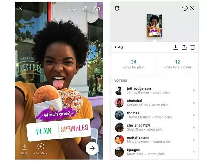 Instagram'da Hikaye Üzerine Anket Eklemek