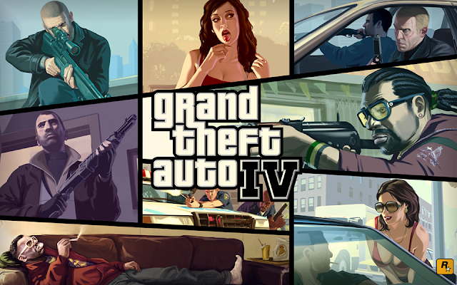 Grand Theft Auto 4 on a low end PC (GTA IV low specs)