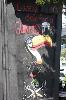 Lovely Day For A Guinness Toucan.