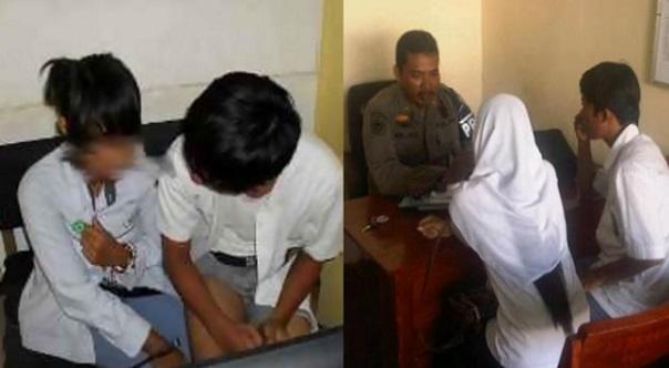 Pelajar Tingkatan 3 Ditahan Ketika Leka 'Berprojek' Di Sebuah Cyber Cafe