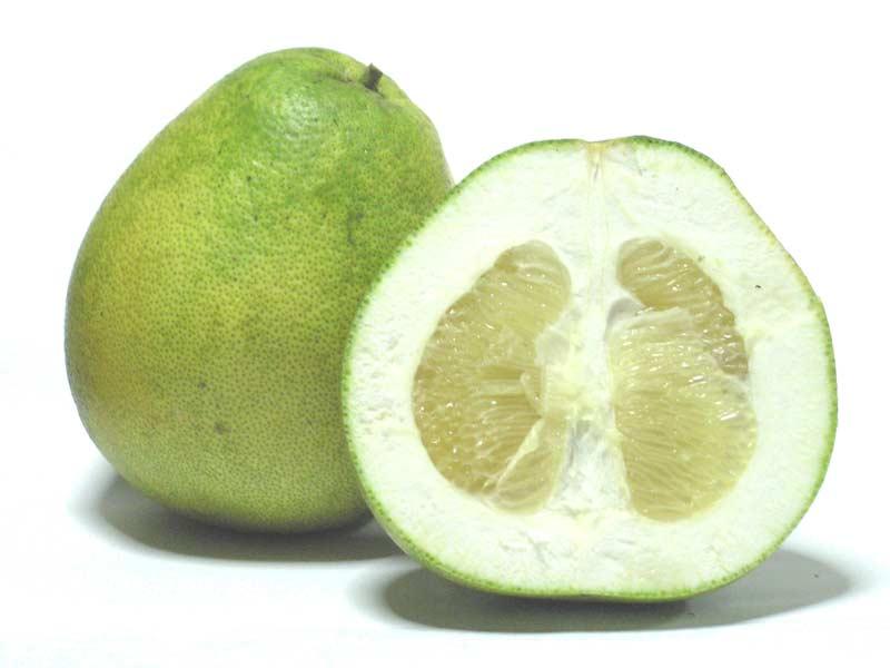 Pummelo (Citrus grandis) fruit pictues