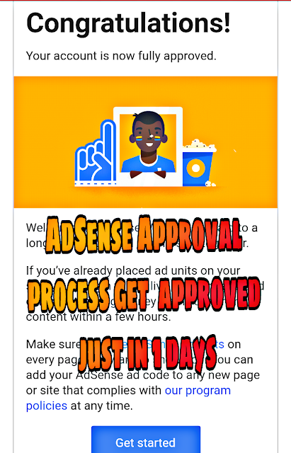 Google AdSense approval tricks for blogspot in 2018- Approve adsense just in 1 days