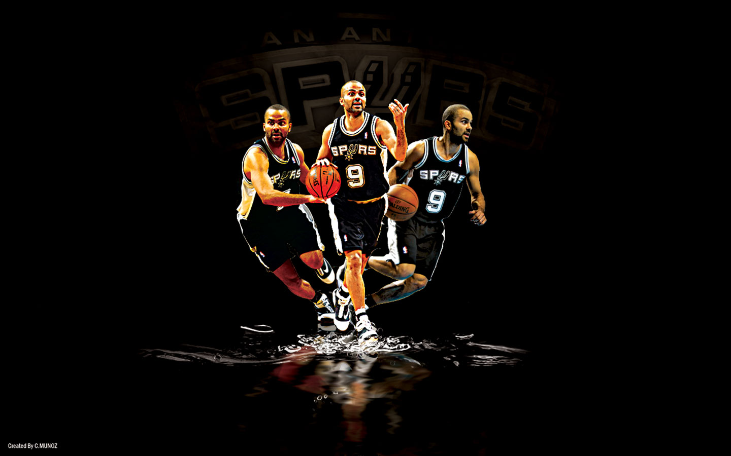 BADBOYS DELUXE: TONY PARKER - NBA - SAN ANTONIO SPURS