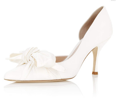Zapatos de Novia con Lazo