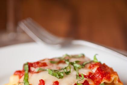 Best Caprese Lasagna Roll Ups Recipe