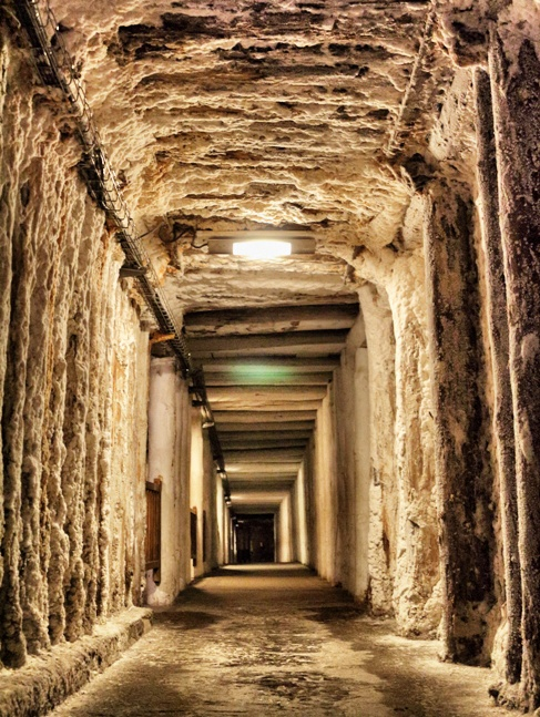 Minas de Sal de Wieliczka en Polonia visitando Moria