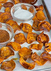 Honey Butter Sweet Potato Chips