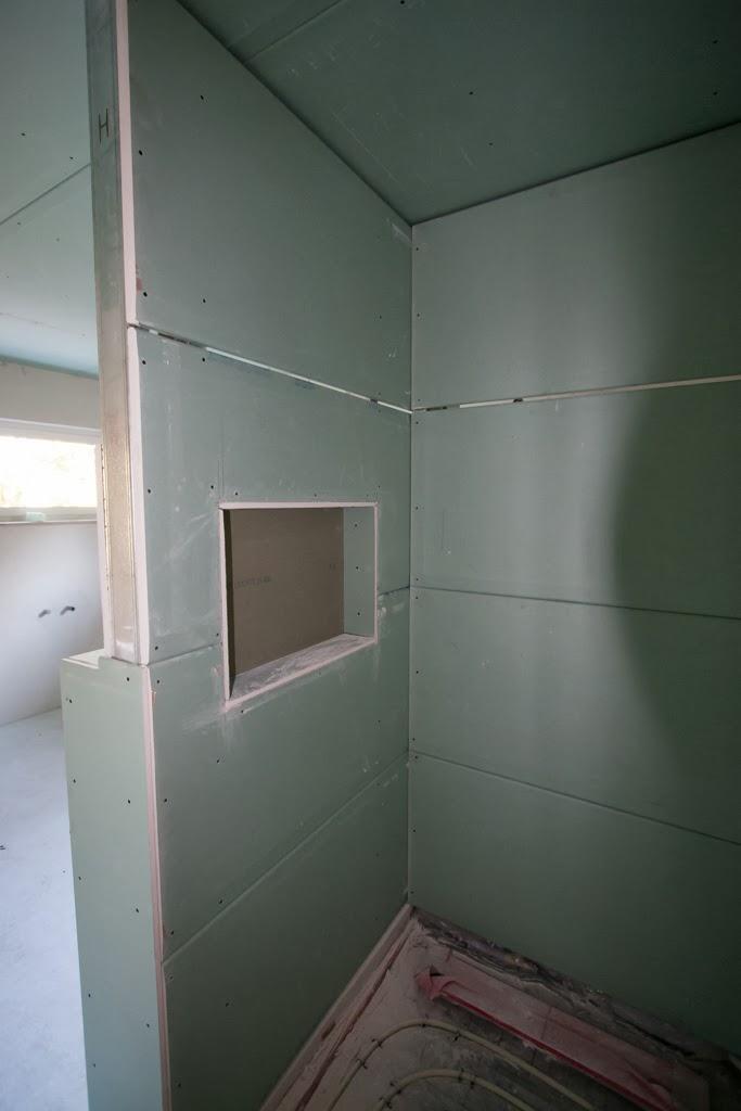 Hum S Baublog Tag 134 Trockenbau Im Badezimmer