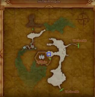 Weather Cow Location, Dragon Quest 11, Sniflheim Region