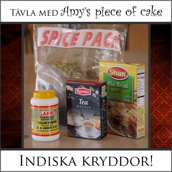 Amy S Piece Of Cake Vinn Indiska Kryddor