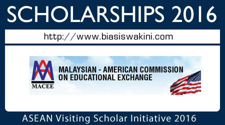 ASEAN Visiting Scholars Initiative 2016