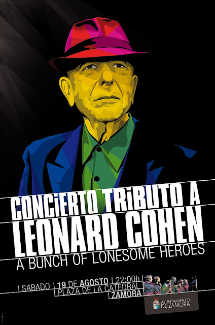 Tributo a Leonard Cohen. Zamora 2017
