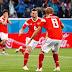 世界杯战绩 17 :东道主俄罗斯势不可挡,以高比分3:1敌磨灭埃及神话率先杀进16强!