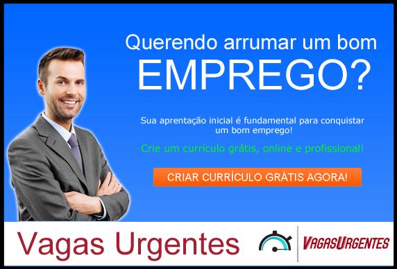 Vagas de Emprego Urgentes
