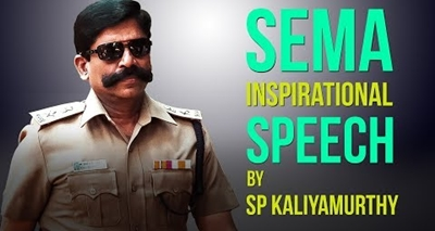 When the Pistol Slipped out of his Hand | Inspirational| SP Kaliyamurthy