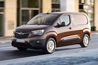 Opel Combo Panel Van (2019) Front Side