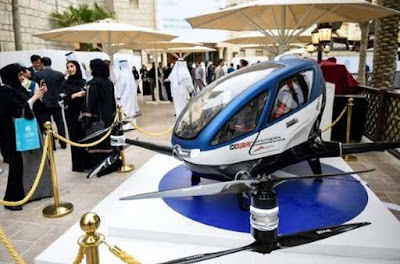 Dubai targets launch of self-driving hover taxi by July | TekkiPedia