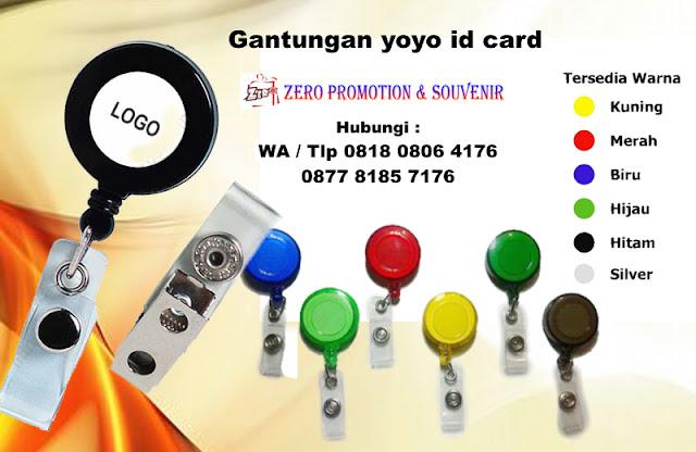 menjual Yoyo Putar, Yoyo ID Card, Gantungan Yoyo, Pembuatan Logo Yoyo, Tali yoyo buat Id Card, Yoyo ID Card Chrome, Gantungan Yoyo ID Card Statis
