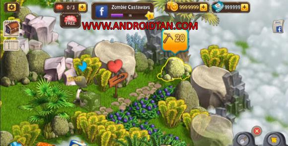 Zombie Castaways Mod Apk Unlimited Money Zombucks/Brains for Android