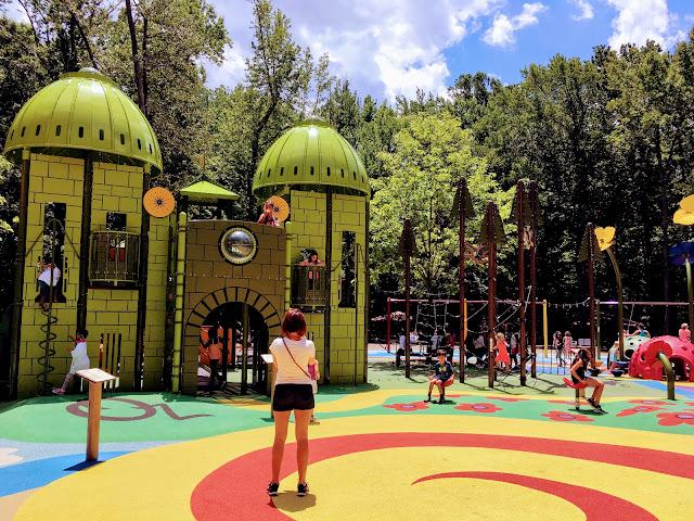 Wizard of Oz Playground at Watkins Regional Park