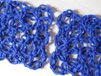 love knot, solomon's knot, lover's knot, granny square, crochet, mesh, tutorial