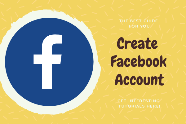 Create An Account For Facebook<br/>