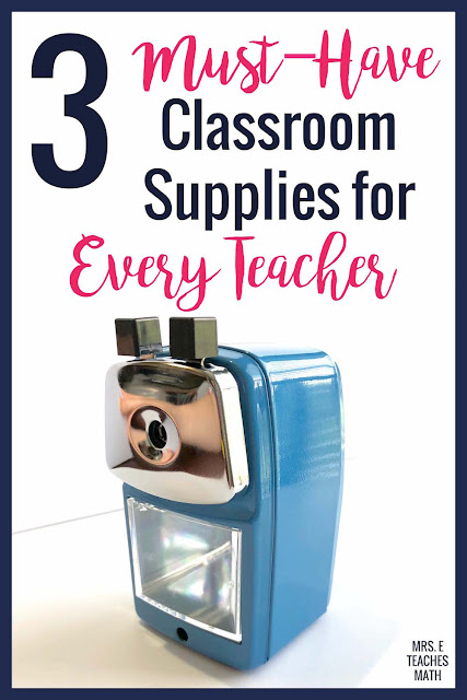 Every teacher or homeschool needs quality classroom supplies.  If you're on a budget, these must-have classroom items are the place you need to spend money.  This list is perfect for elementary, middle school, or high school teachers.  Grab these supplies when you are buying things for classroom organization at back to school time!