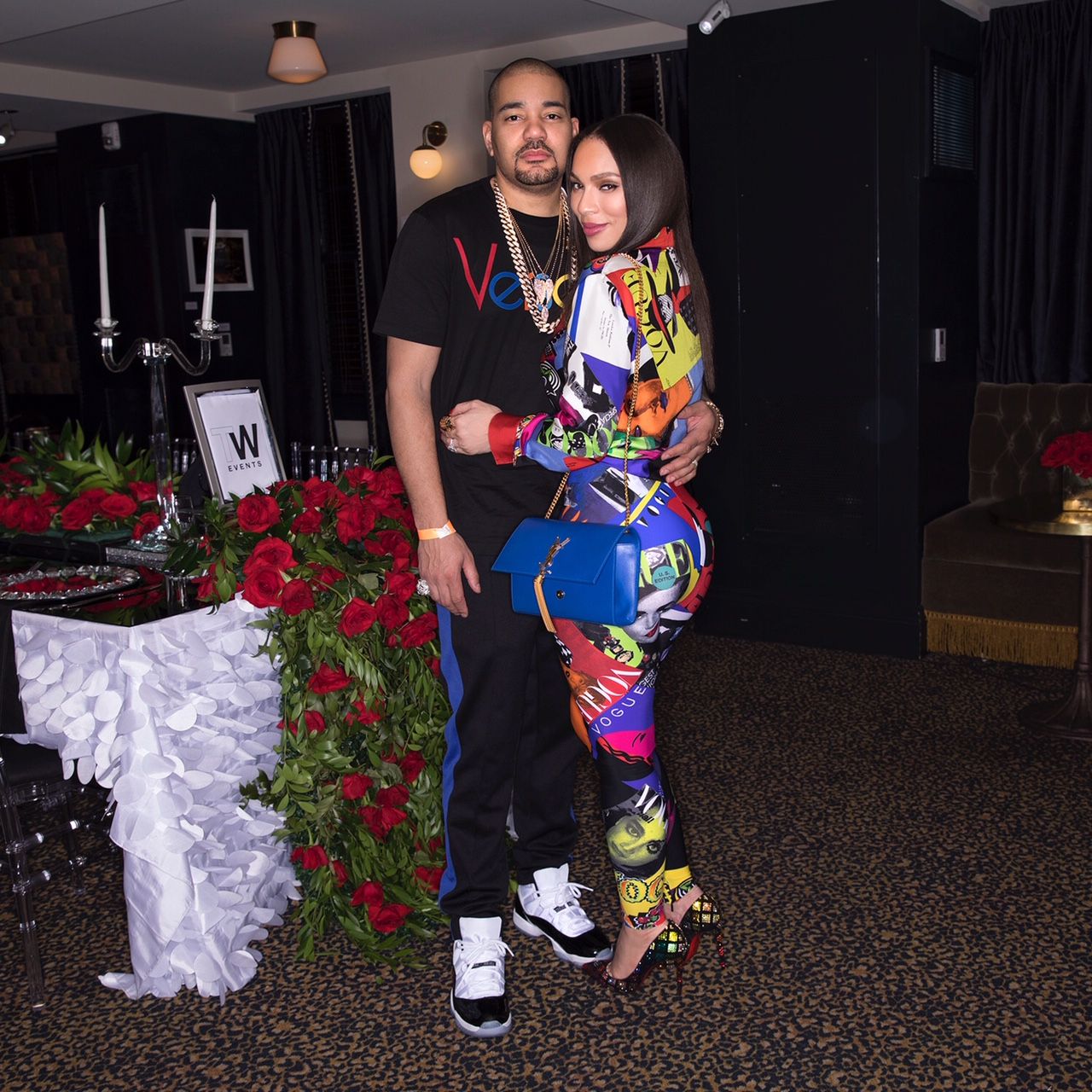 Online Beauty Grooming Journalist Blogger Of The Year: Kemi Online ♥: DJ Envy And Wife Gia In Versace